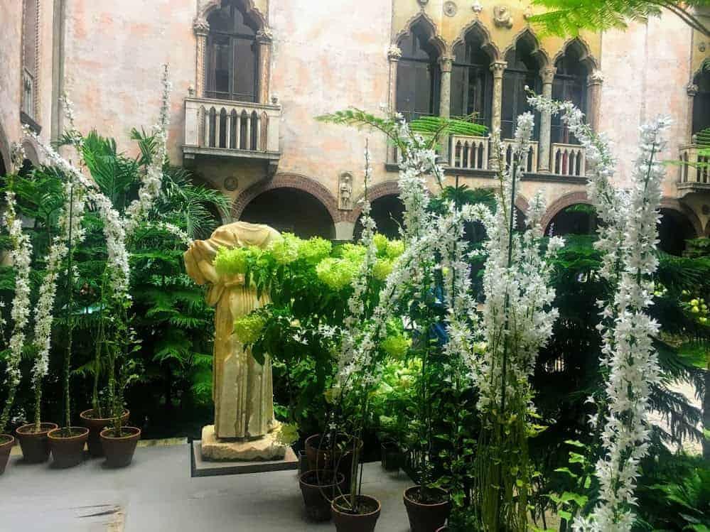 Isabella Stewart Gardner Museum garden