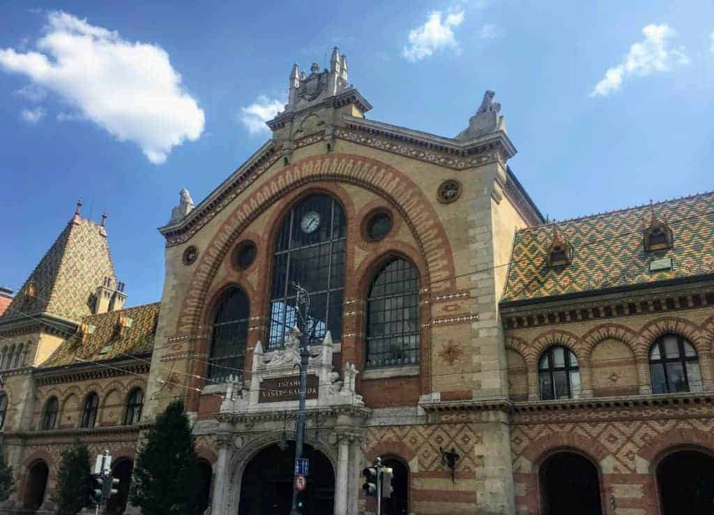 24 hours in budapest central market hall