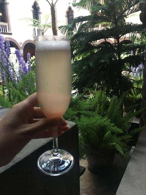 Isabella Stewart Gardner Museum champagne