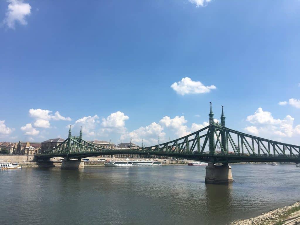 green bridge danube