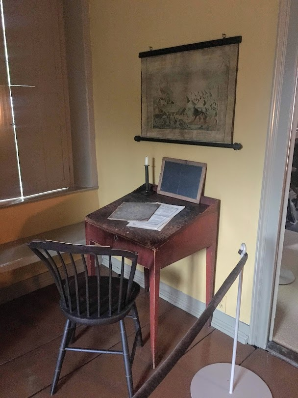 henry wadsworth longfellow desk