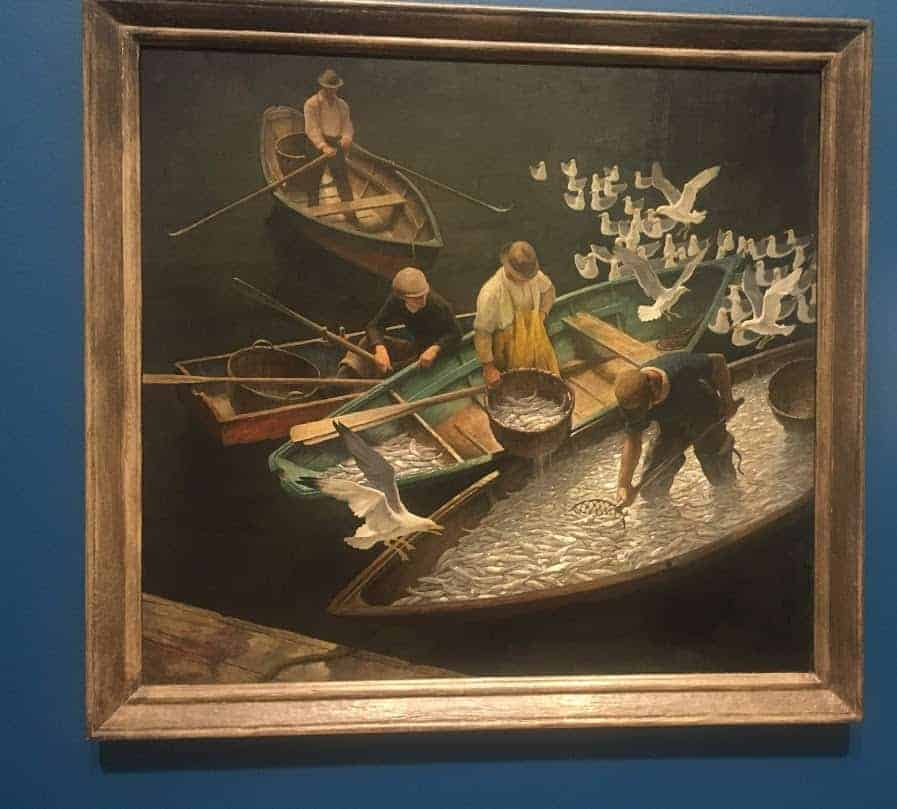nc wyeth dark harbor fishermen
