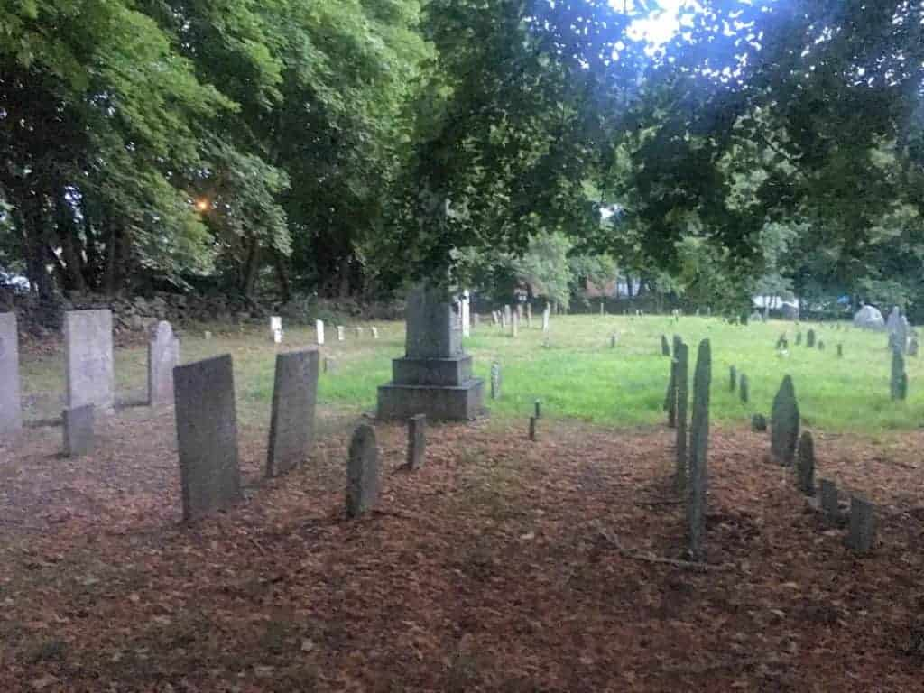 whitehall burial ground