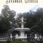A Perfect Savannah Itinerary 4
