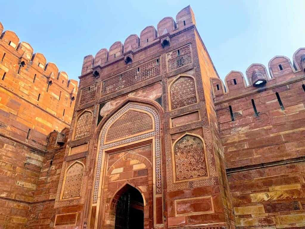 24 hours in agra fort