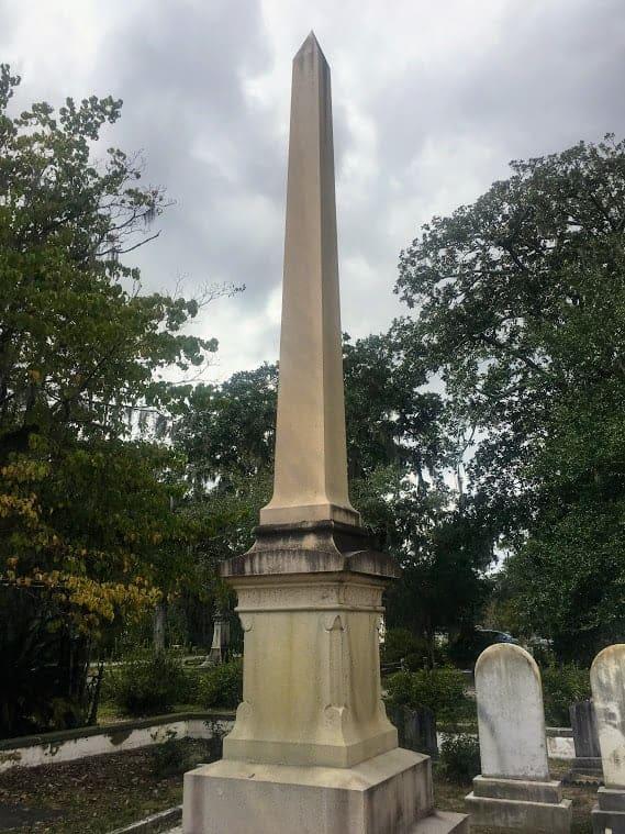 richard arnold bonaventure cemetery