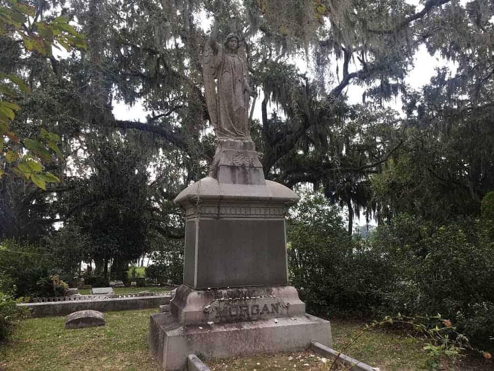 bonaventure cemetery morgan