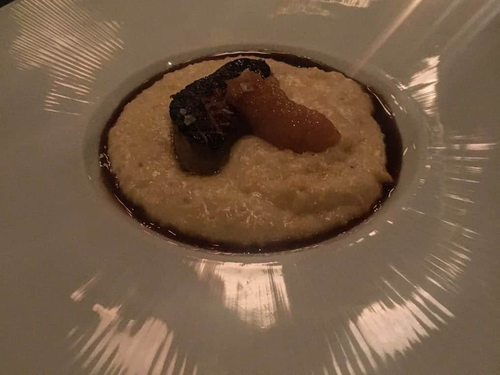 foie gras grits the grey