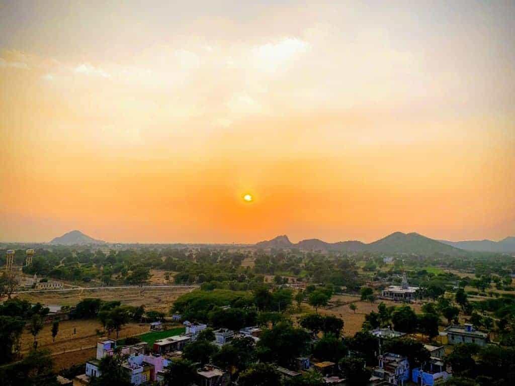 fort madhogarh sunset