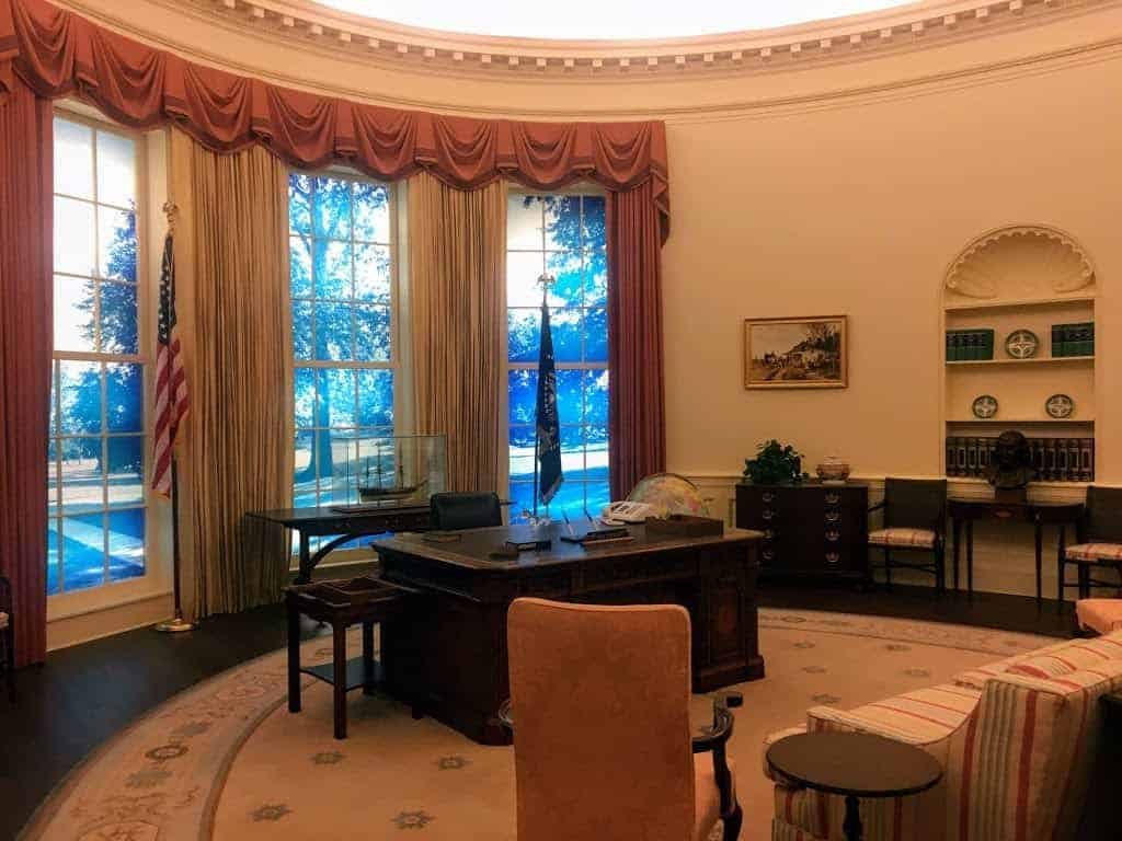 jimmy carter library oval office replica