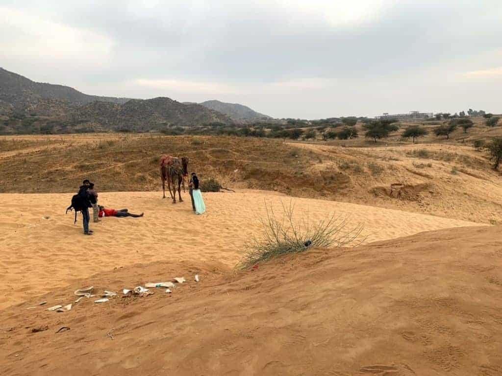 pushkar desert