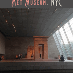 A Perfect 24 Hours Visiting the Met Museum 2